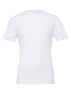 Canvas Unisex Jersey Crew Neck T-Shirt White XS