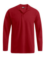 Promodoro Männer Heavy Polo langarm Fire Red XL