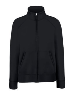 Fruit of the Loom Premium Sweatjacke Frauen Black XS