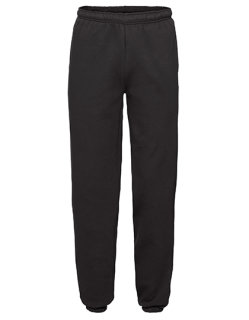 Fruit of the Loom Premium Elasticated Cuff Jogginghose Black XL