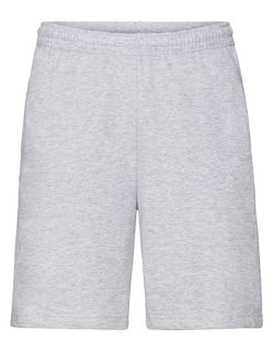 Fruit of the Loom leichte Shorts Heather Grey XXL