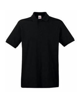Fruit of the Loom Premium Polo Black XXL