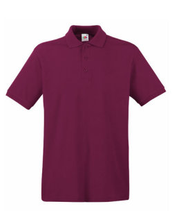 Fruit of the Loom Premium Polo Burgundy L