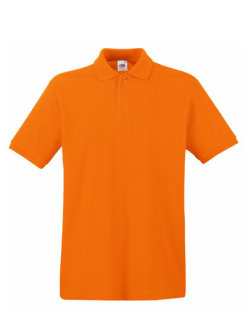 Fruit of the Loom Premium Polo Orange 3XL
