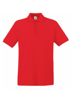 Fruit of the Loom Premium Polo Red XXL