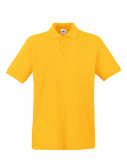 Fruit of the Loom Premium Polo Sunflower 3XL