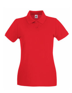 Fruit of the Loom Premium Polo Frauen Red S