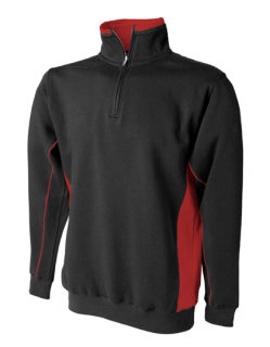 Finden+Hales Sweat Pullover Black/Red S