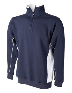 Finden+Hales Sweat Pullover Navy/White L