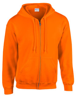 Gildan Heavy Blend? Kapuzensweat Jacke Safety Orange M