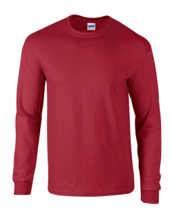 Gildan Ultra Cotton? langarm T- Shirt Cardinal Red M