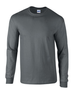Gildan Ultra Cotton? langarm T- Shirt Charcoal (Solid) M