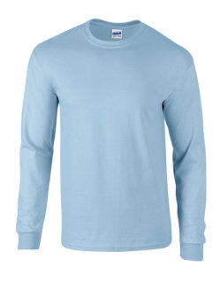 Gildan Ultra Cotton? langarm T- Shirt Light Blue M