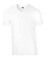 Gildan Softstyle® V-Neck T-Shirt White L