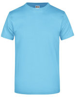 James+Nicholson Round-Tshirt Heavy Sky Blue XL