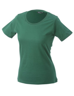 James+Nicholson Frauen Basic-Tshirt Dark Green 3XL