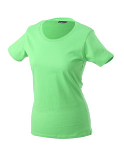 James+Nicholson Frauen Basic-Tshirt Lime Green 3XL