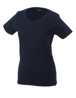James+Nicholson Frauen Basic-Tshirt Navy XXL