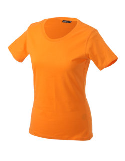 James+Nicholson Frauen Basic-Tshirt Orange M
