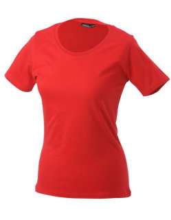 James+Nicholson Frauen Basic-Tshirt Red XXL