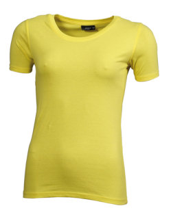 James+Nicholson Frauen Basic-Tshirt Yellow XXL