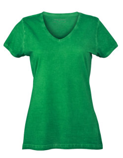 James+Nicholson Frauen Gipsy T-Shirt Fern Green XL