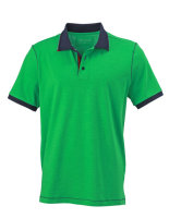 James+Nicholson Männer Urban Polo Fern Green/Navy 3XL