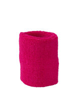myrtle beach Terry Wristband Pink One Size