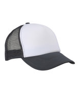 myrtle beach 5-Panel Polyester Mesh Cap White/Graphite...