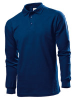 Stedman® langarm Polo Navy Blue XL