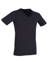 Stedman® Dean Deep V-Neck T-Shirt Black Opal L