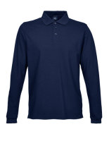 Tee Jays Luxury Stretch langarm Polo Navy L
