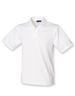 Henbury Männer Coolplus Wicking Polo Shirt White 3XL