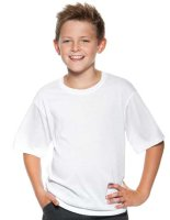 Xpres Kinder Sublimation Plus® T-Shirt White 128 (7-8 Jahre)