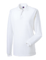 Russell langarm Classic Cotton Polo White L