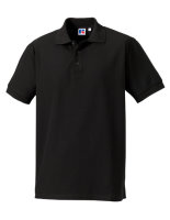 Russell Männer Ultimate Cotton Polo Black 4XL