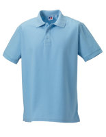 Russell Männer Ultimate Cotton Polo Sky XS