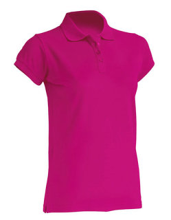 JHK Polo Regular Frauen Fuchsia XL