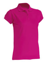 JHK Polo Regular Frauen Fuchsia XXL