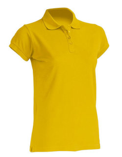 JHK Polo Regular Frauen Gold M