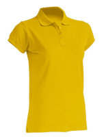 JHK Polo Regular Frauen Gold XXL