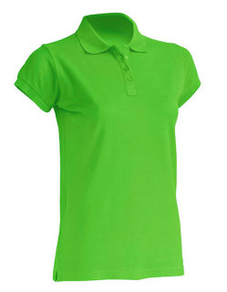 JHK Polo Regular Frauen Lime S