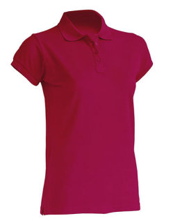 JHK Polo Regular Frauen Raspberry XXL