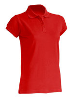 JHK Polo Regular Frauen Red XXL