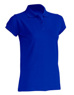 JHK Polo Regular Frauen Royal Blue XXL
