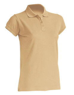 JHK Polo Regular Frauen Sand L