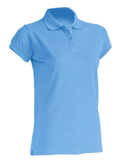 JHK Polo Regular Frauen Sky XL