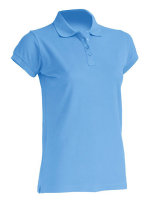 JHK Polo Regular Frauen Sky XXL