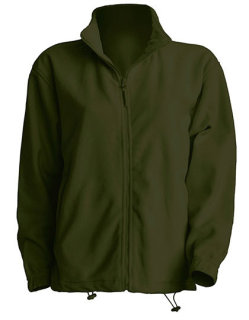 JHK Men Fleece Jacke Forest Green M