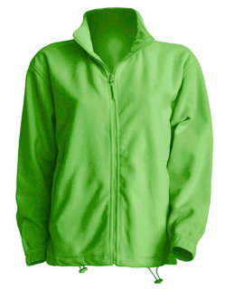 JHK Men Fleece Jacke Lime XL